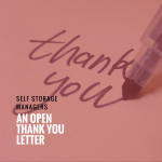 Self-Storage Managers | An Open Thank You Letter